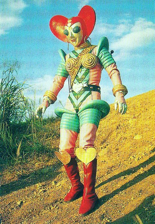 The Zany Costumes Of Ultraman Ted Jackson Books