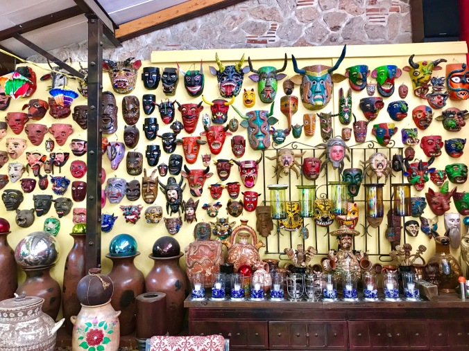 Mexican folk masks