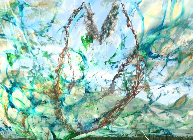 Sawako Ninomiya and Naoyuki Minamide art collaboration